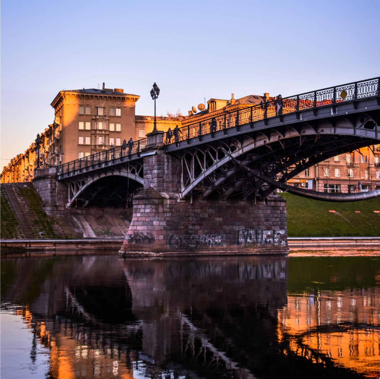 Ponte Zveryno, Vlinius, Lituânia
