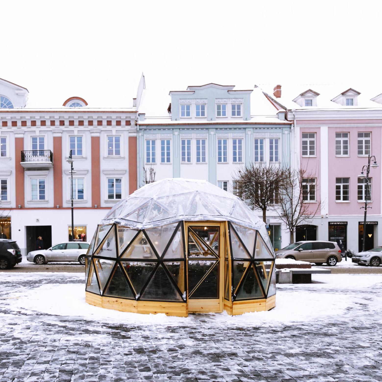 Mercado de Natal, Vlinius, Lituânia